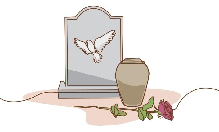 crémation inhumation